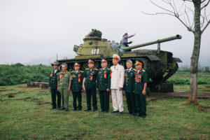Veterans at Khe Sanh Combat Base