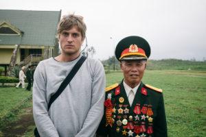 Veterans & Chris Lettner at Khe Sanh Combat Base