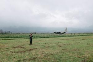 Veterans at Khe Sanh Combat Base