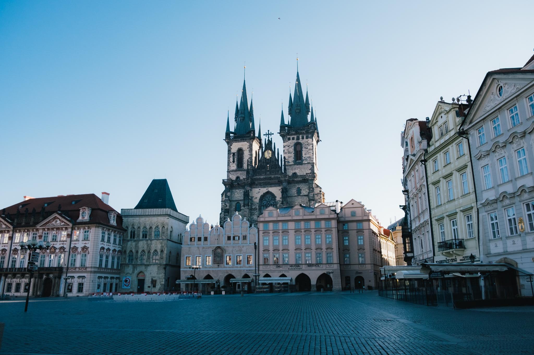 Old Town Square (Staroměstské náměstí) Without People