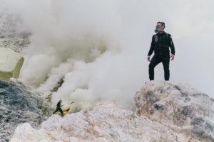 Ijen Volcano Sulfur Mine Tourism