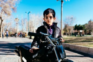 Boy with Mini Motorbike, Asadi Park