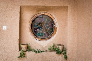 Window, Potplants, Mud Brick